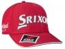 Srixon: Gorra Tour Rojo Logo Blanco ¡35% dtº! -