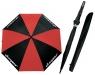 Clicgear: Paraguas Clicgear Negro/Rojo -