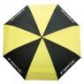 Clicgear: Paraguas Rovic Negro/Amarillo -