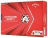 Callaway: Bolas Chrome Soft Truvis Roja/Blanca 20 ¡15% dtº! -