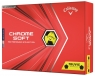 Callaway: Bolas Chrome Soft Truvis Amarilla/Negra  20 ¡15% dtº! -