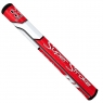 SuperStroke: Grip Traxion Tour 2.0 rojo/blanco para Putter -
