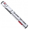 SuperStroke: Grip Traxion Tour 3.0 blanco/rojo para Putter -