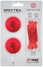 Zero Friction: Pack 2 Bolas + Tees Neon Rojo -