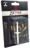 Zero Friction: 40 Tees 3 Prong 7 cm Negros -