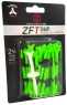 Zero Friction: 40 Tees 3 Prong 7 cm Verde Limón -