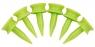 Masters: 1.000 Tees Plástico Graduados 2.5 cm -