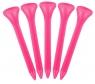 Masters: 40 Tees Plástico Rosas 5.4 cm -