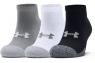 UnderArmour: 3 Pares de Calcetines Heatgear Locut Hombre 1346753-035 ¡18% dtº! -
