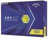 Callaway: 12 Bolas ERC Soft Amarillas 21 ¡15% dtº! -