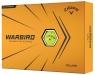 Callaway: 12 Bolas Warbird Amarillas ¡15% dtº! -