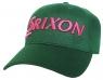 Srixon: Gorra One Touch Verde Logo Rosa ¡35% dtº! -