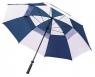 Longridge: Paraguas con Doble Capa Azul Oscuro/Blanco ¡43% dtº! -