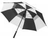 Longridge: Paraguas con Doble Capa Negro/Blanco ¡43% dtº! -
