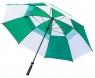 Longridge: Paraguas con Doble Capa Verde/Blanco ¡43% dtº! -