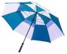 Longridge: Paraguas con Doble Capa Azul/Blanco ¡43% dtº! -