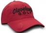 Cleveland: Gorra con Marcador Roja Logo Azul Oscuro -